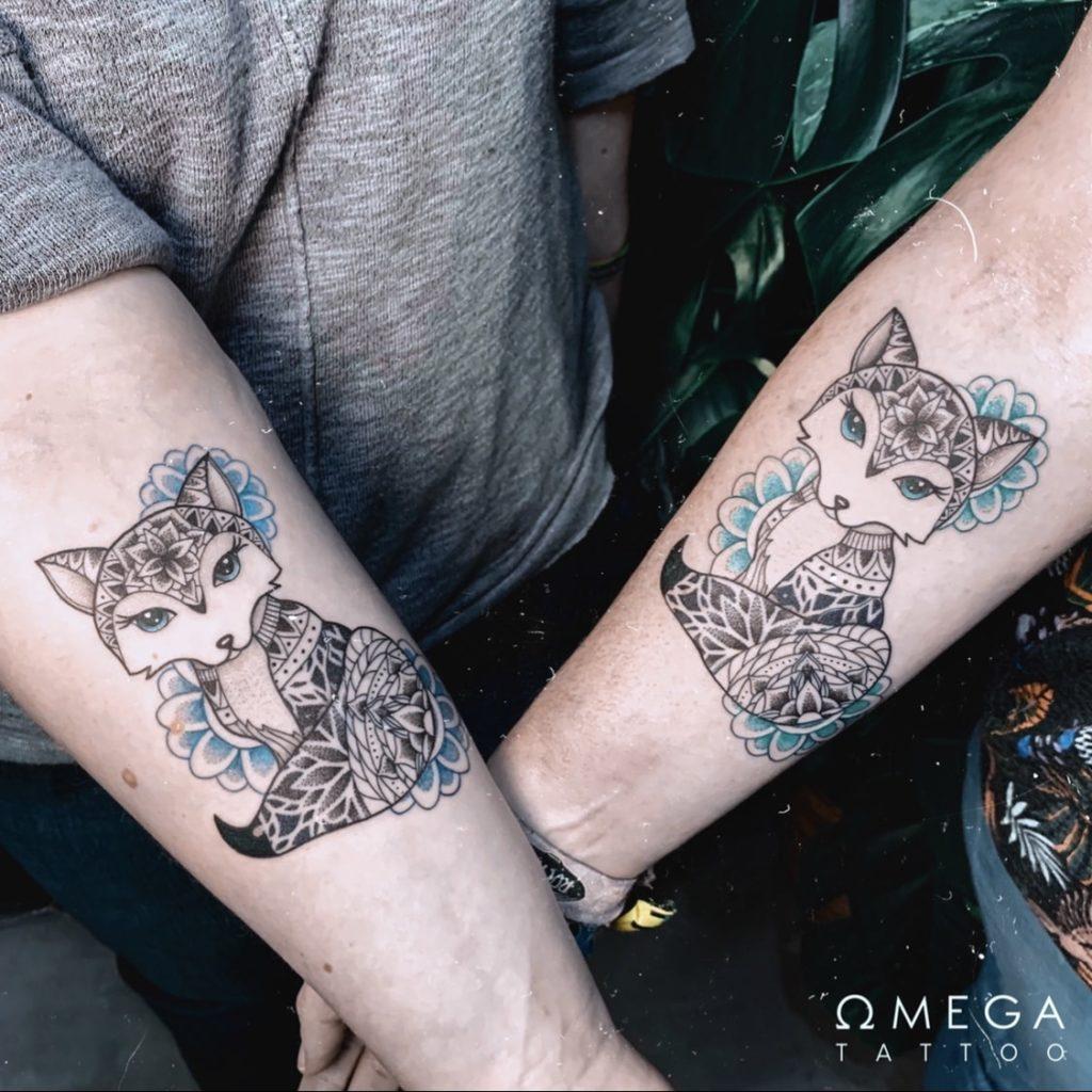 Fuchs Mandala Tattoo