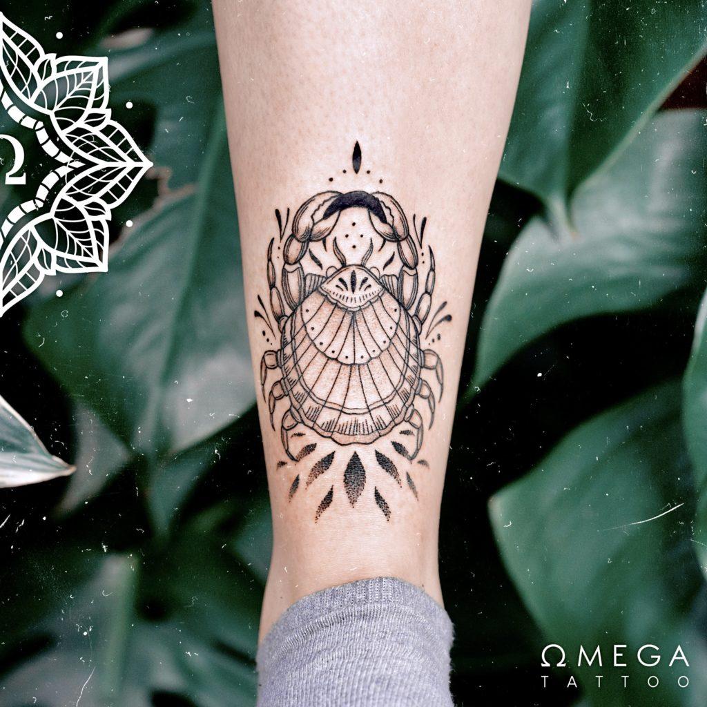 Fine Krebs Tattoo Stuttgart