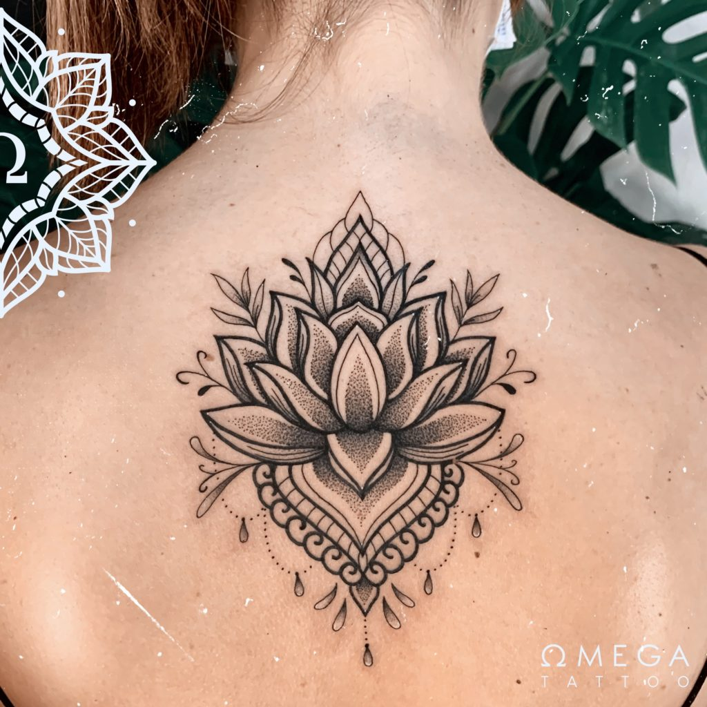 Lotus Mandala Tattoo Stuttgart