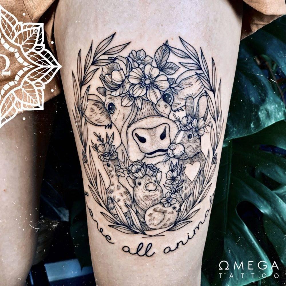 Veganes Tattoo Stuttgart